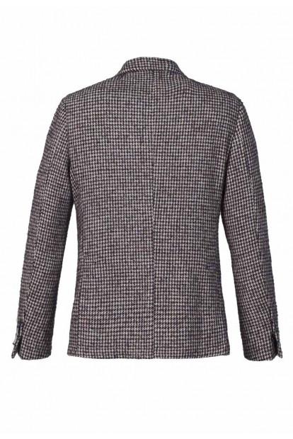 Roda giacca monopetto burgundy