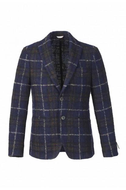 Roda giacca monopetto blu