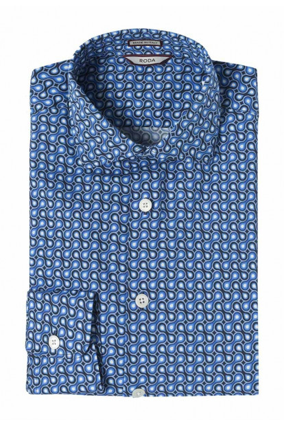 Roda camicia geometrica