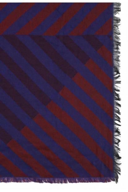 Roda sciarpa righe oblique